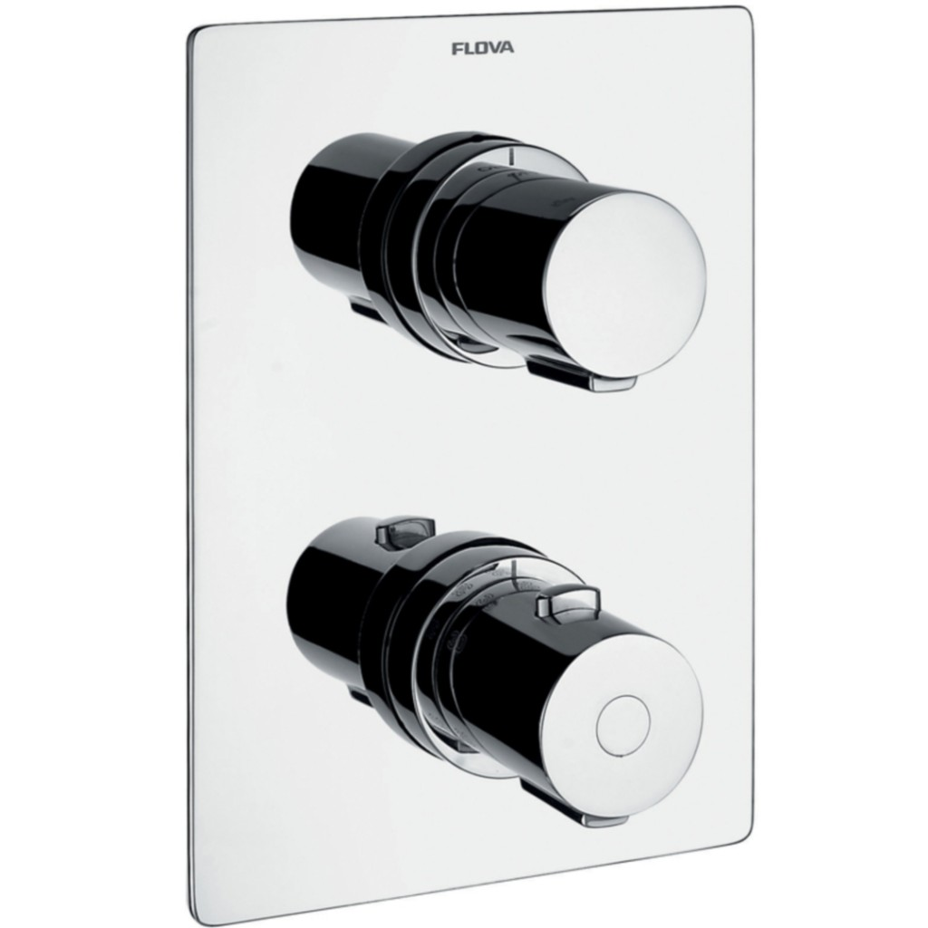 Flova Annecy Concealed Thermostatic Shower Mixer With...