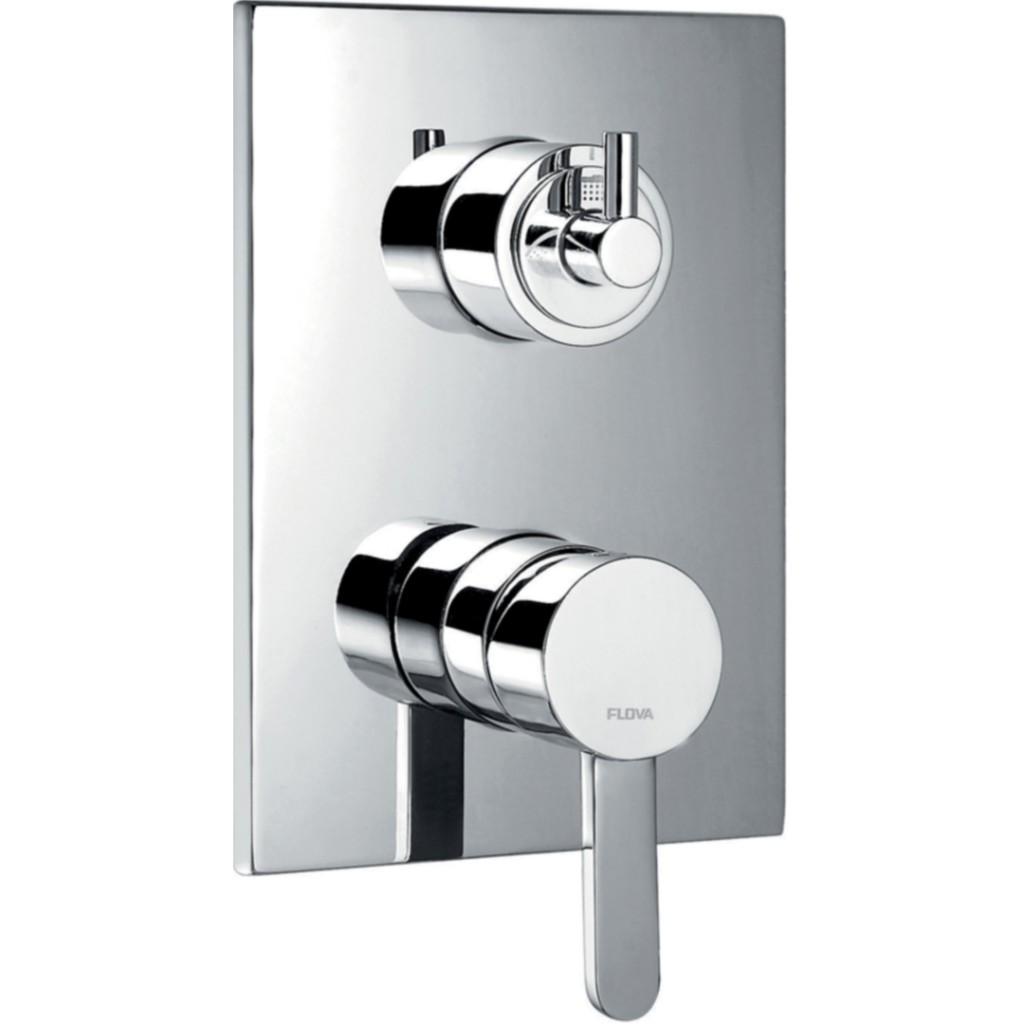 Flova Essence Concealed Manual Shower Valve With 3 Way Diverter ...