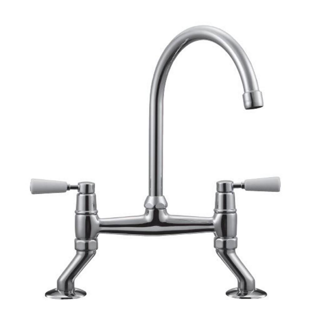 Franke Bridge Lever Kitchen Sink Mixer Tap - Baker and Soars