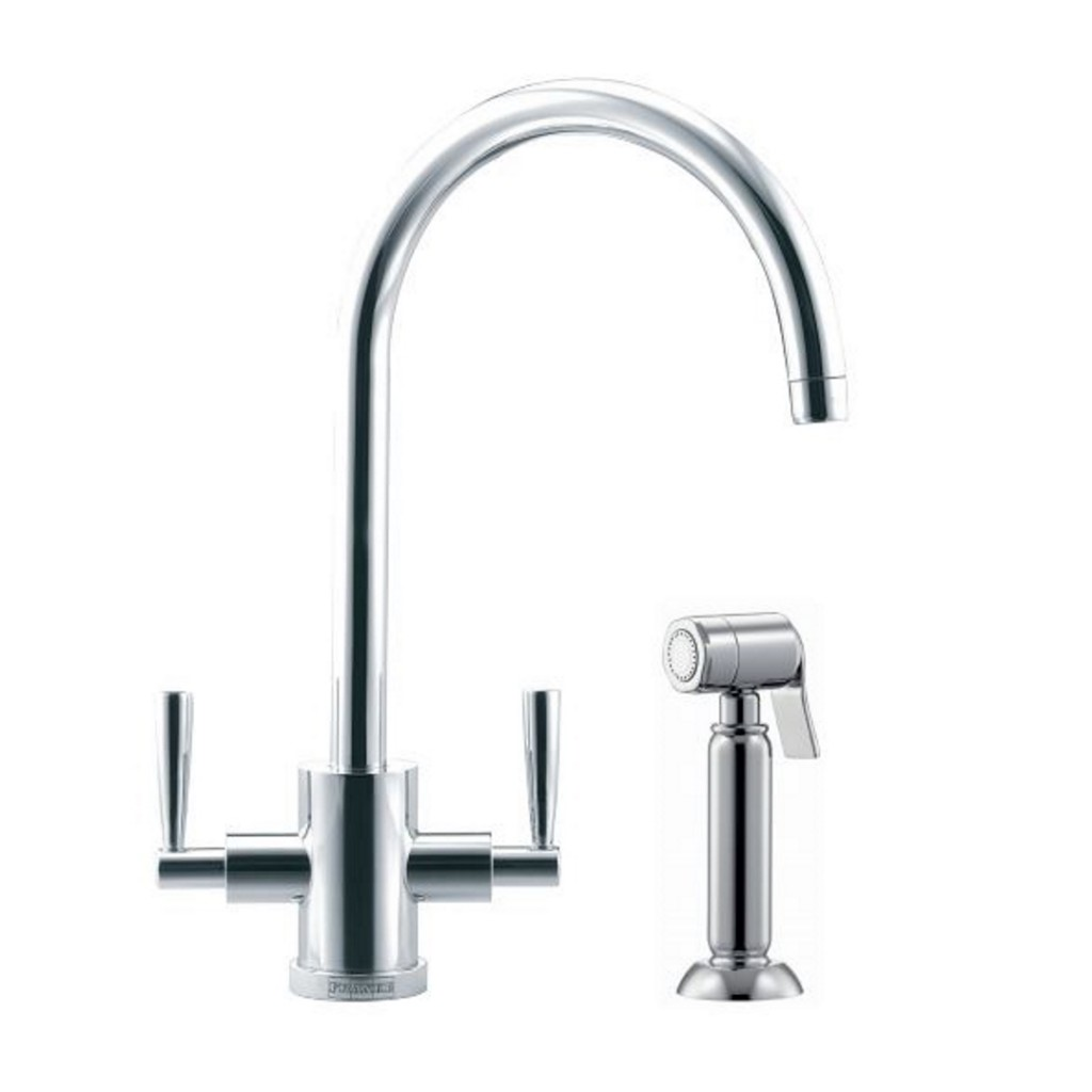 Franke Olympus Side Spray Kitchen Sink Mixer Tap - Baker and Soars