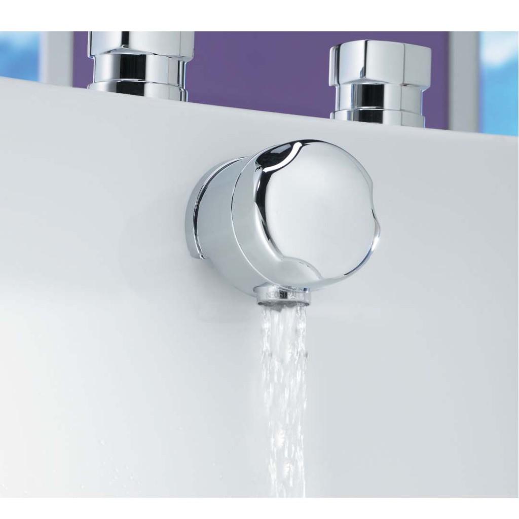 Tre Mercati Automatic Bath Filler Waste Chrome 708 - Baker and Soars