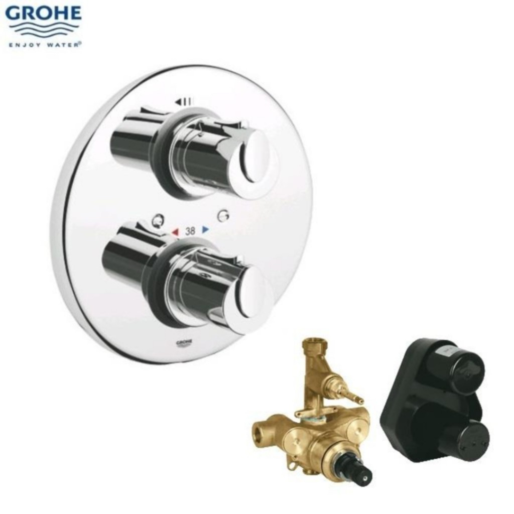 Nice Grohe Grohtherm 1000 Thermostatic Concealed Shower System 34162001