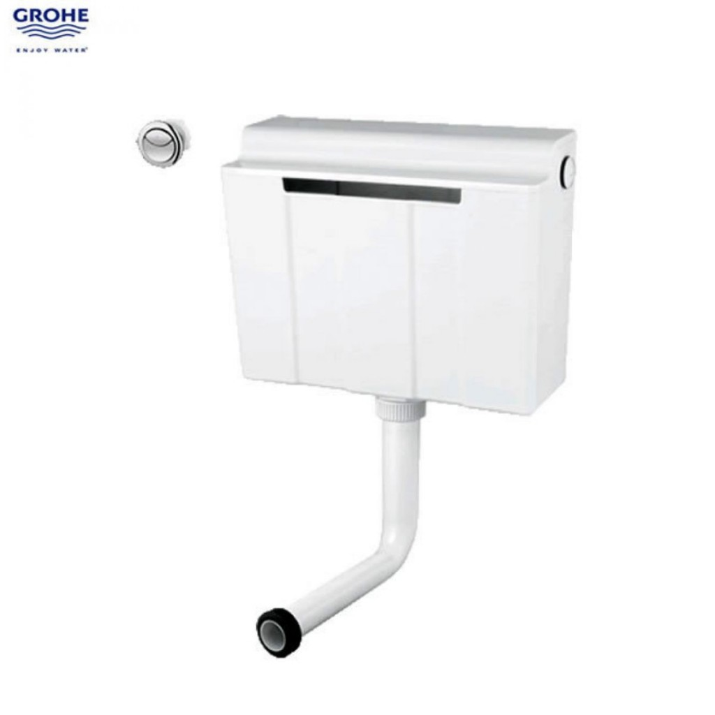 Grohe dual flush adagio concealed cistern side fill with flush grohe dual flush adagio concealed cistern side fill with flush button 39054000 pooptronica Image collections