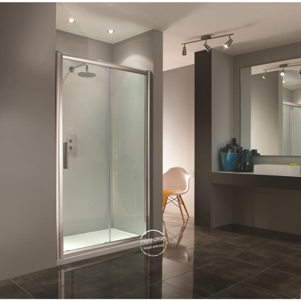 Manhattan 6 Sliding Door Shower Enclosure - Baker and Soars