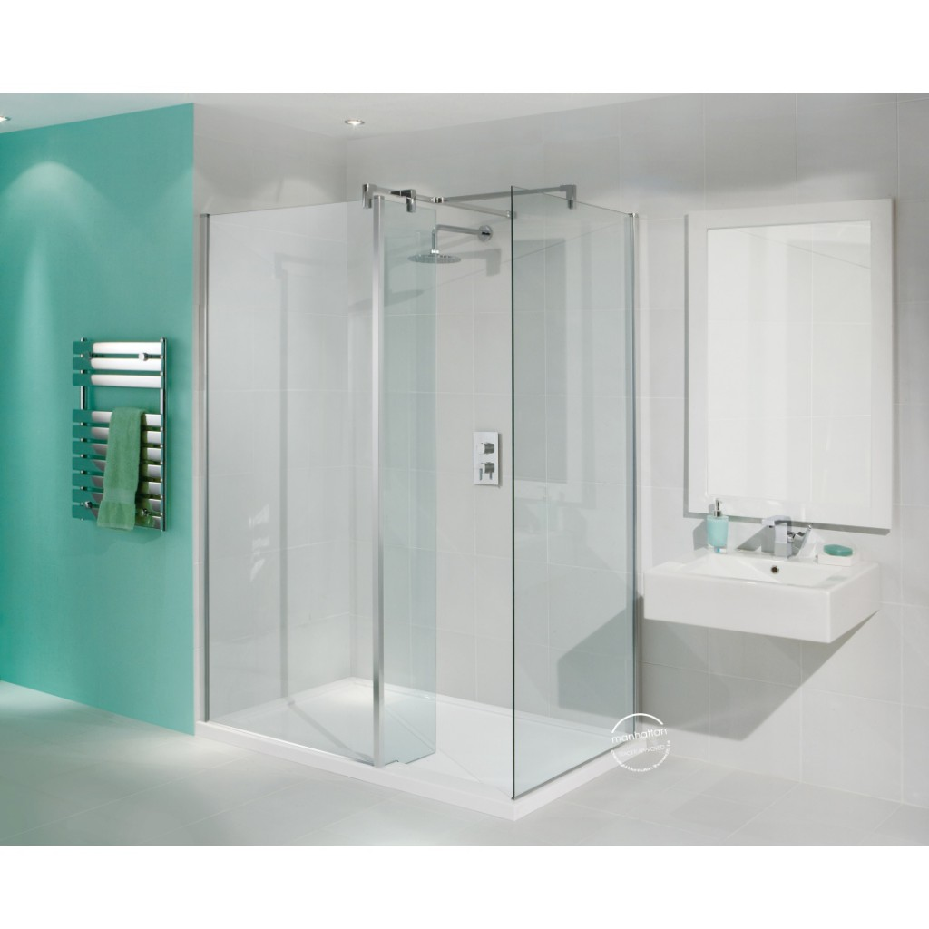 Manhattan 8 Walk-In 1400 x 900 Shower Enclosure - Baker and Soars