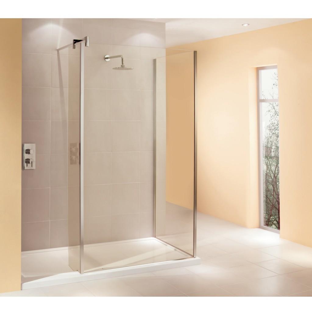 Manhattan 8 Walk-In 1700 x 800 Corner Shower Enclosure - Baker and Soars
