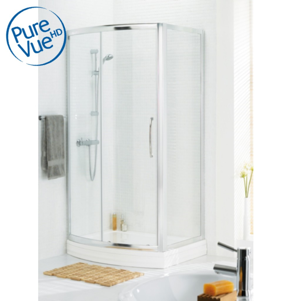 Lakes Classic Bow Fronted Slider Shower Enclosure