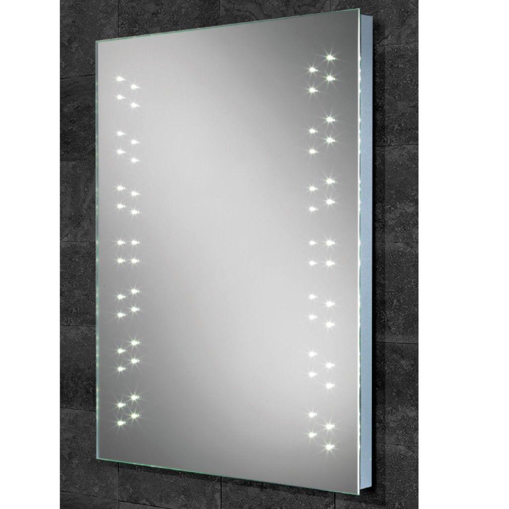 HiB Vercelli LED Dot Mirrors Art No. 77404000
