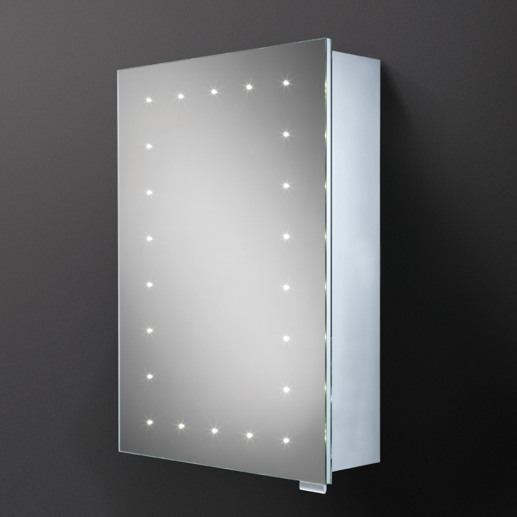 Hib Vogue Steam Free Led Aluminium Cabinet Mirror Art No