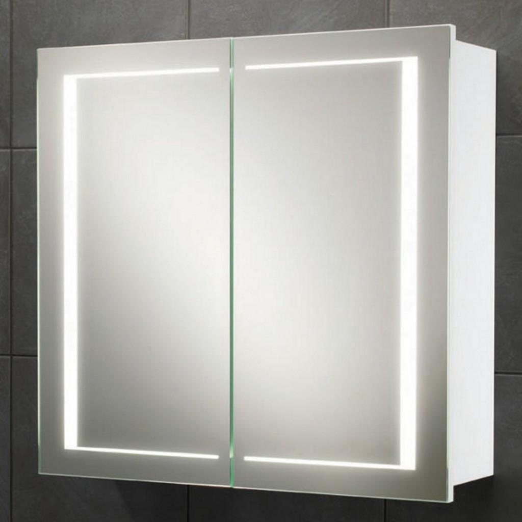 HiB Colorado LED Back-Lit Mirror Cabinet Art No. 9102000 - Baker and ...