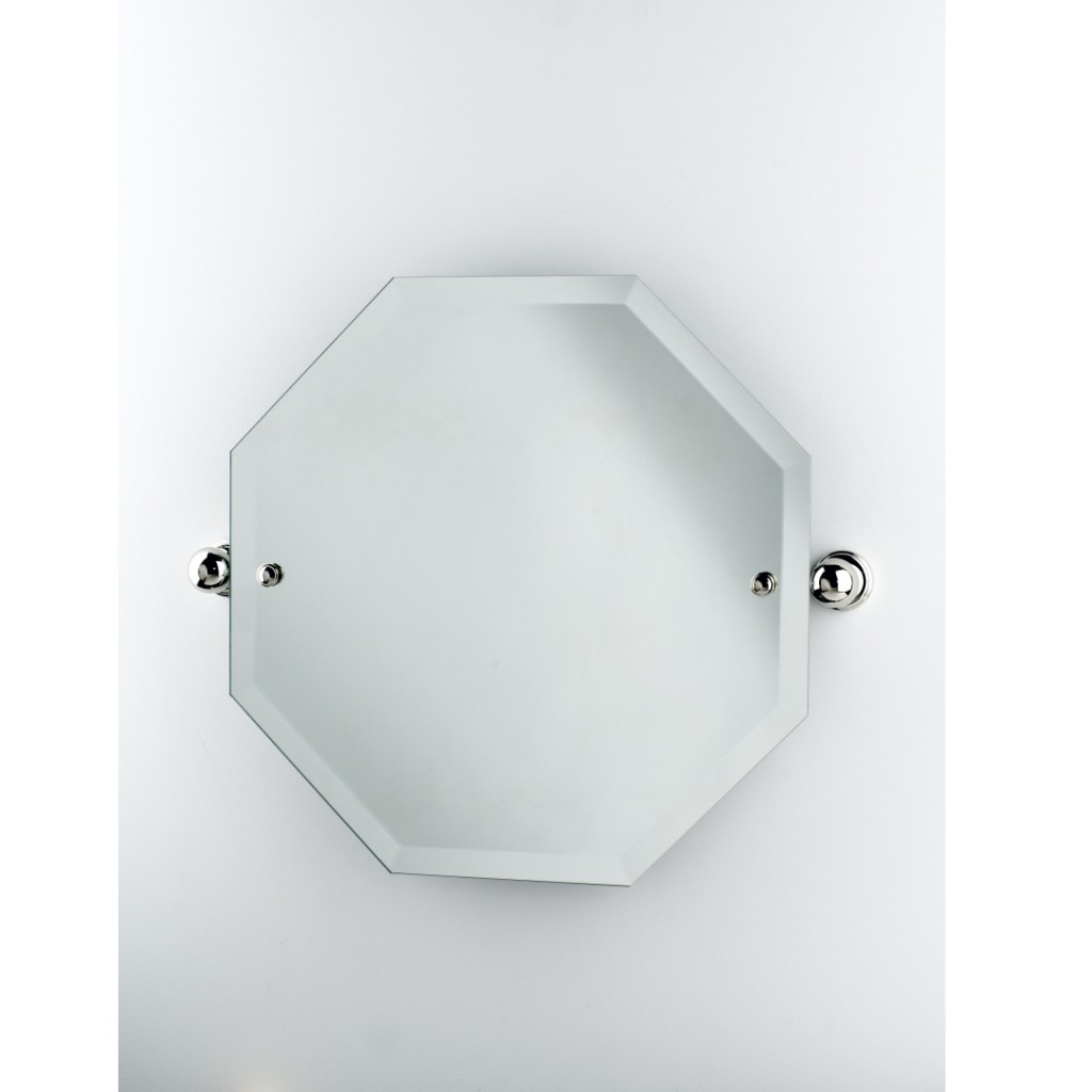 Perrin And Rowe Traditional Octagonal Mirror 6981