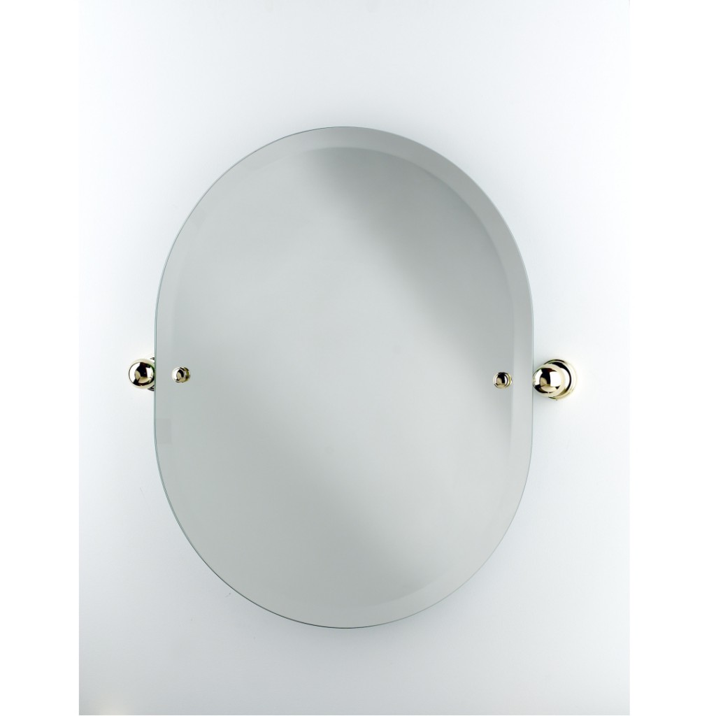 Perrin And Rowe Traditional Oval Mirror 6982