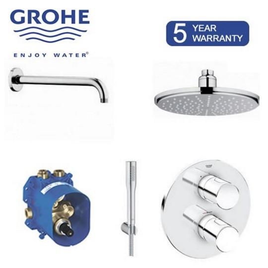 Grohe G3000 Cosmo Rainshower Bath-Shower Diverter Pack...