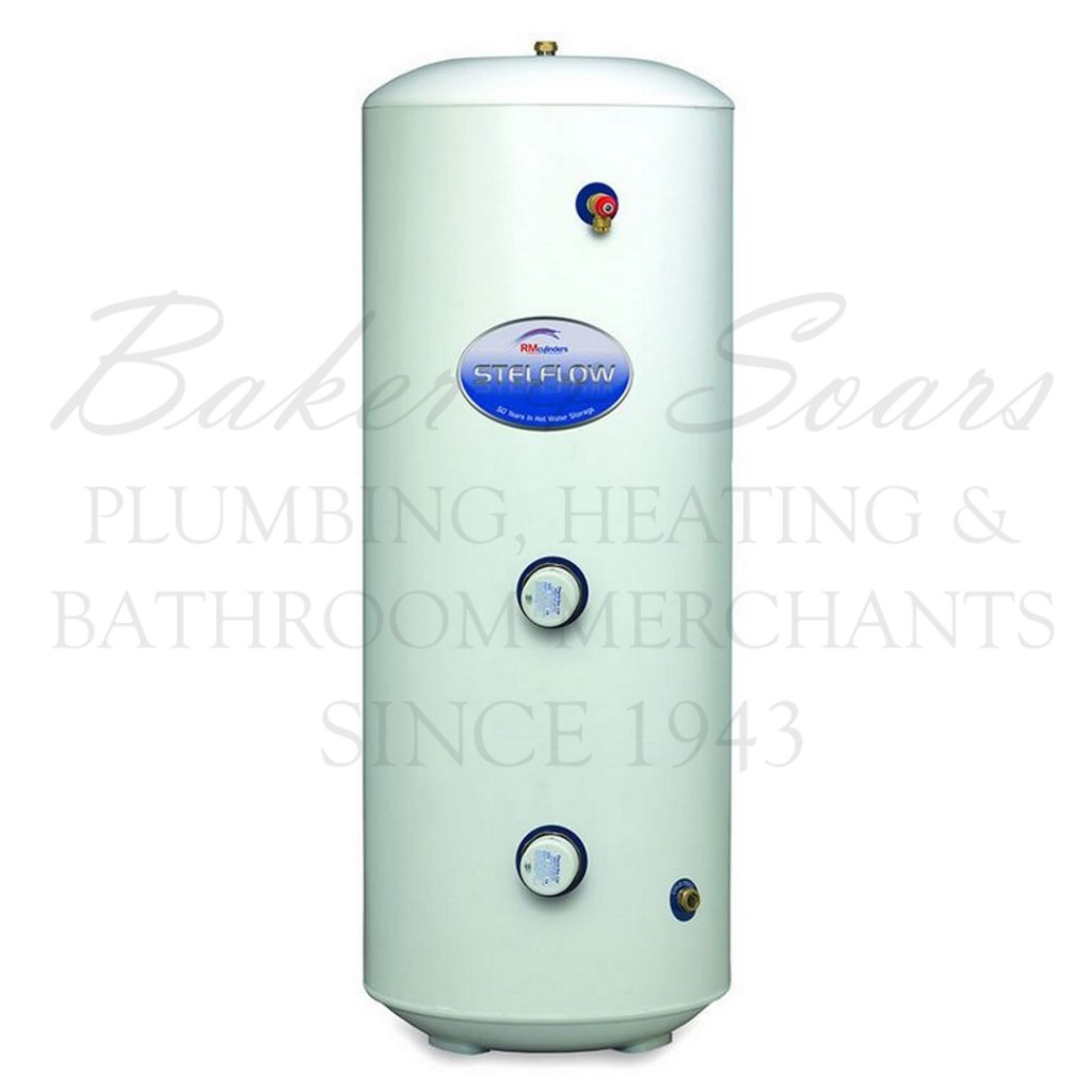 RM Cylinders Stelflow Unvented Direct Stainless Steel Cylinder ...