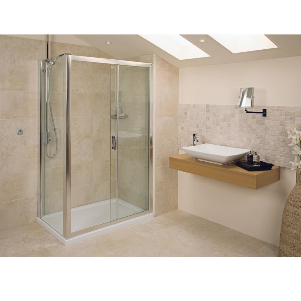 Roman Showers Embrace Sliding Door Shower Enclosure - Baker and Soars