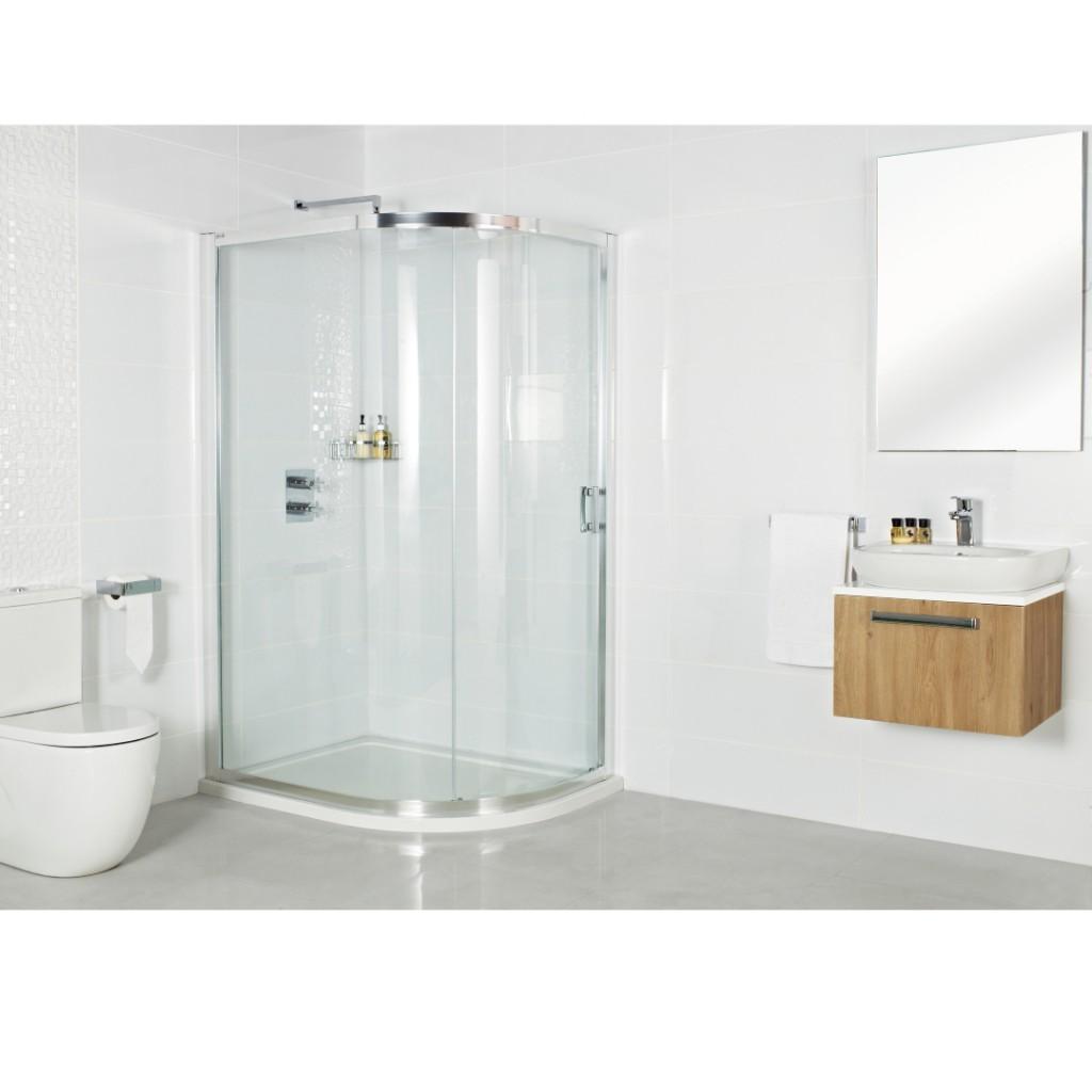 Roman Showers Embrace One Door Quadrant Shower Enclosure