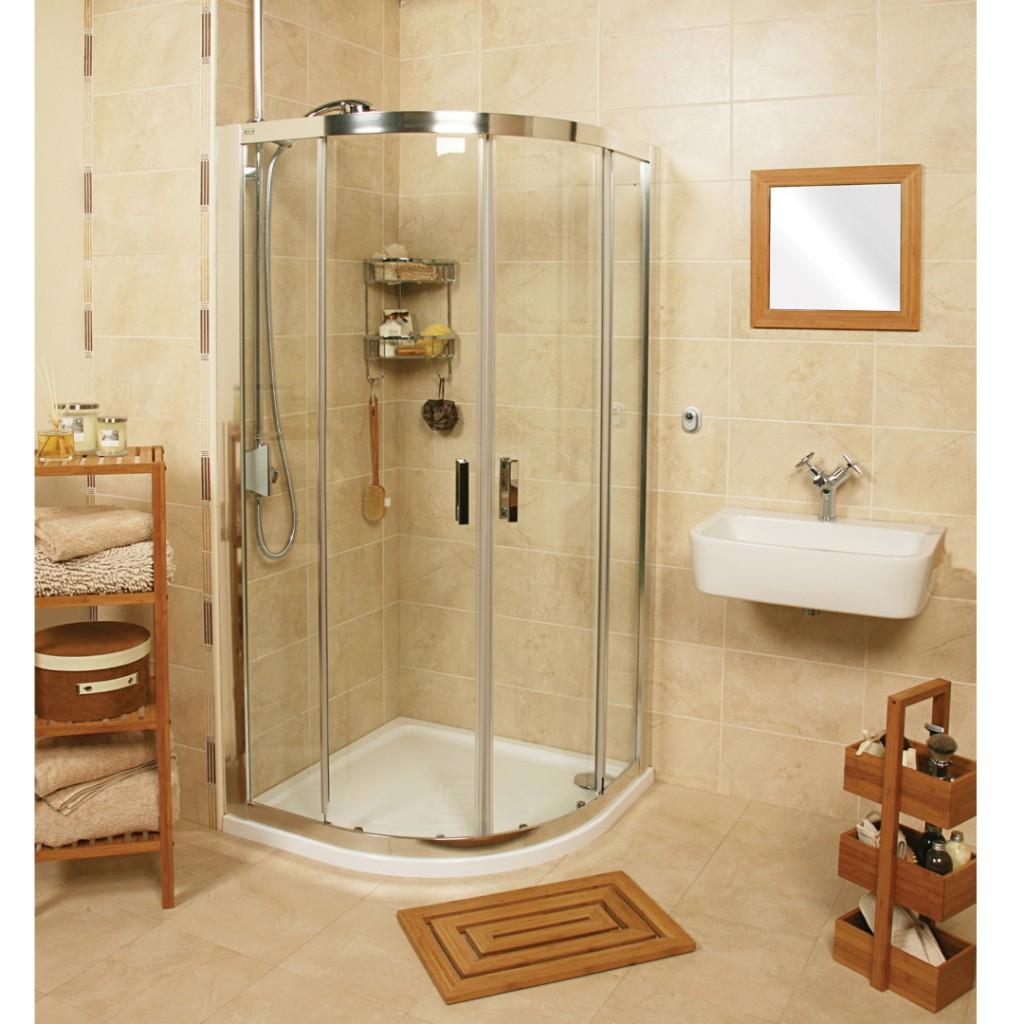 Roman Showers Embrace Two Door Quadrant Shower Enclosure