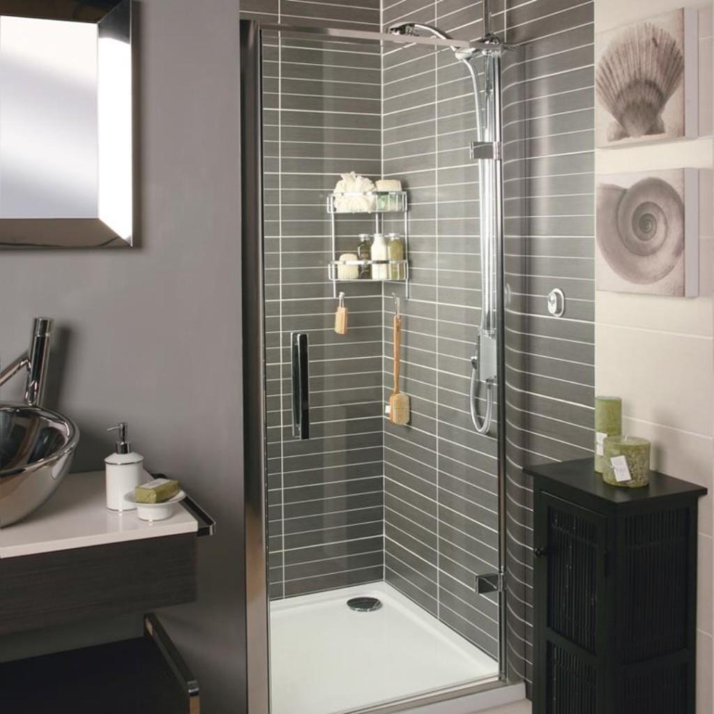 Roman Showers Embrace Hinged Door Shower Enclosure