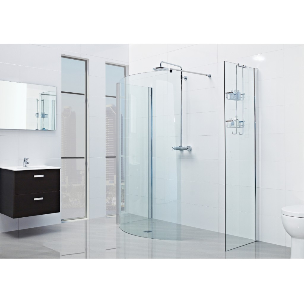 Roman Showers Lumin8 1700mm Colossus Shower Enclosure - Baker and Soars
