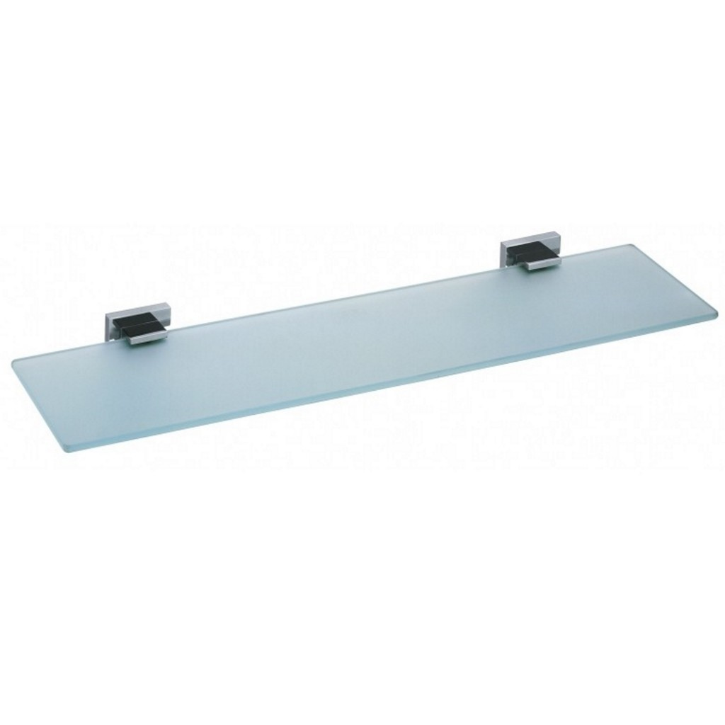 Vado Level Frosted Glass Shelf LEV-185-CP - Baker and Soars