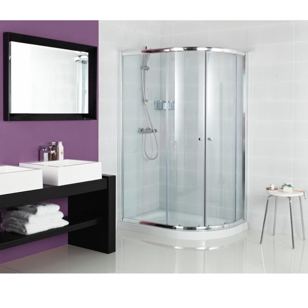 Roman Showers Haven Two Door Quadrant Enclosure Baker
