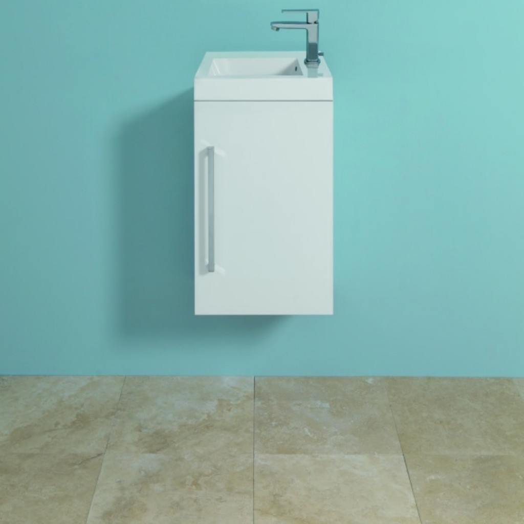 Mere Bathrooms Jenta 40cm Wash Basin and Wall Hung...