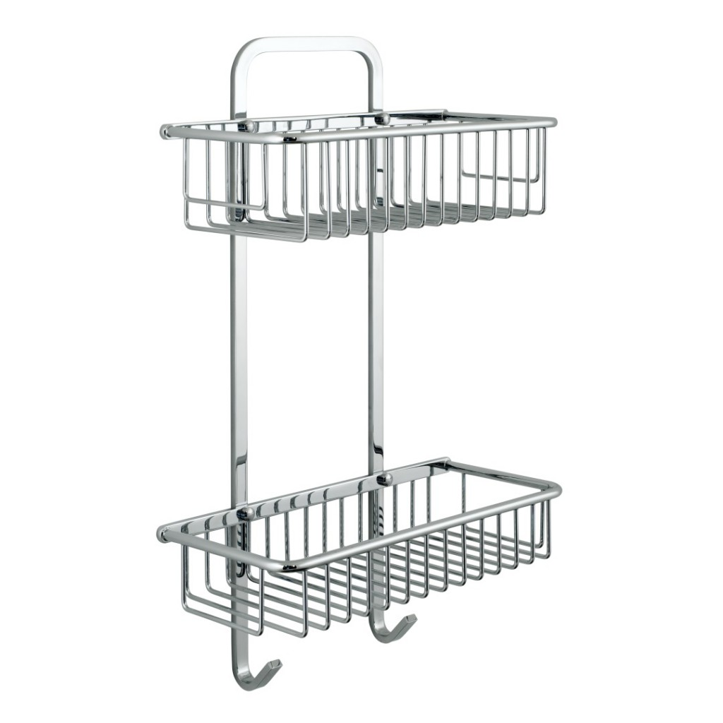 Vado Large Rectangular Double Basket BAS-2003-CP