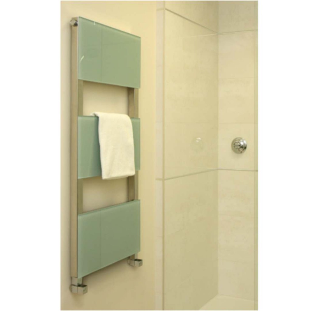 Aestus Reflex Contemporary Towel Rail Glass