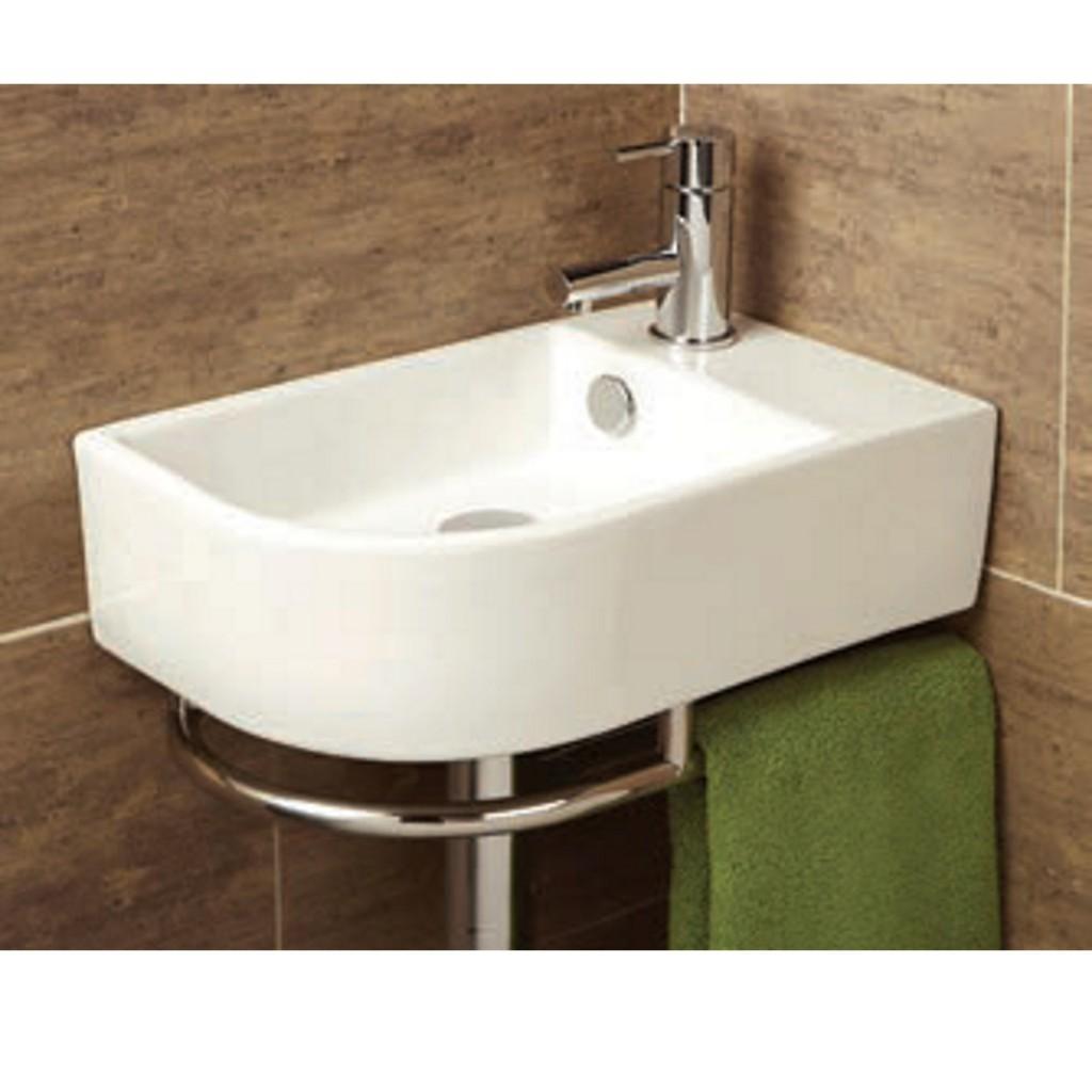 HiB Temoli Washbasin and Towel Rail Art No. 8976