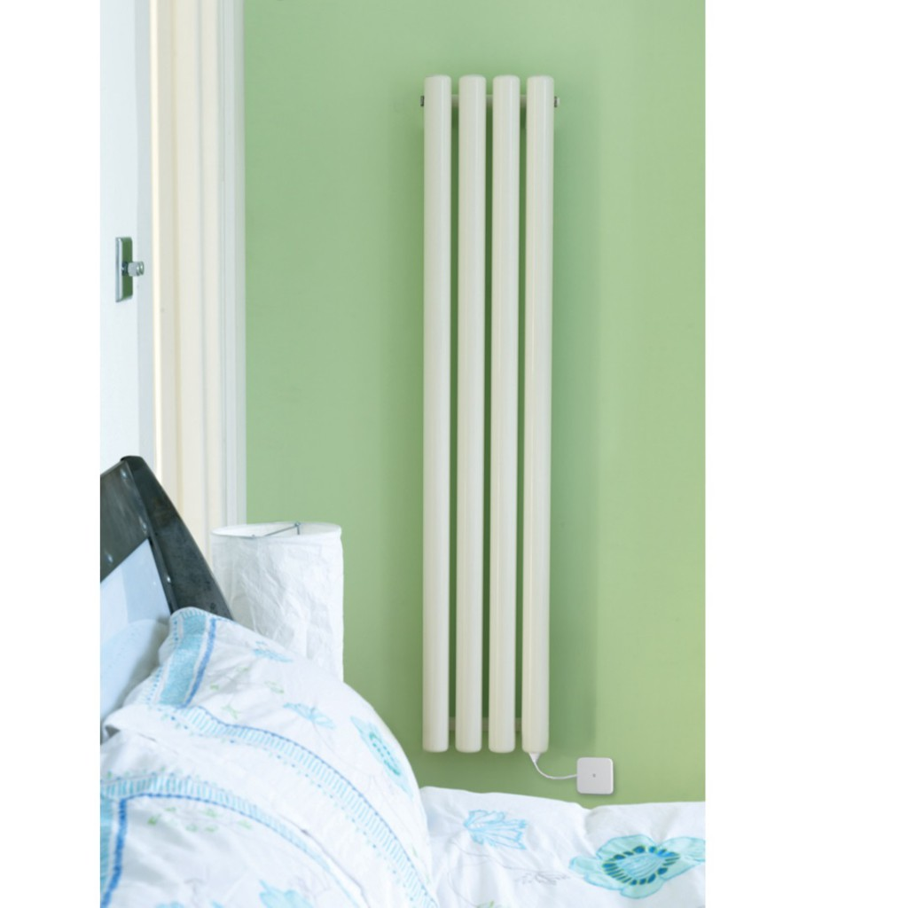 Eucotherm Vulkan Electro Electric Radiator White