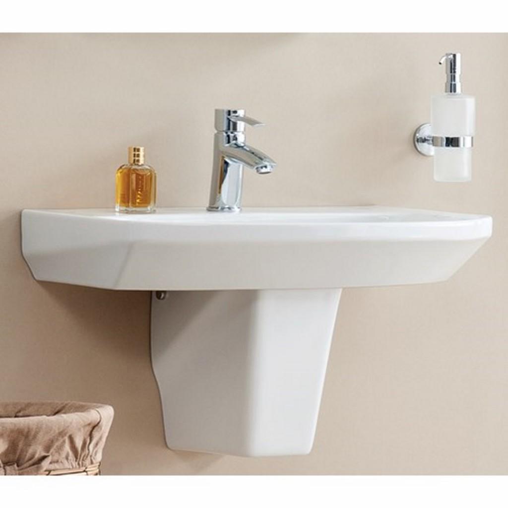 Creavit Sorti 45x60 cm Washbasin with Half Pedestal...