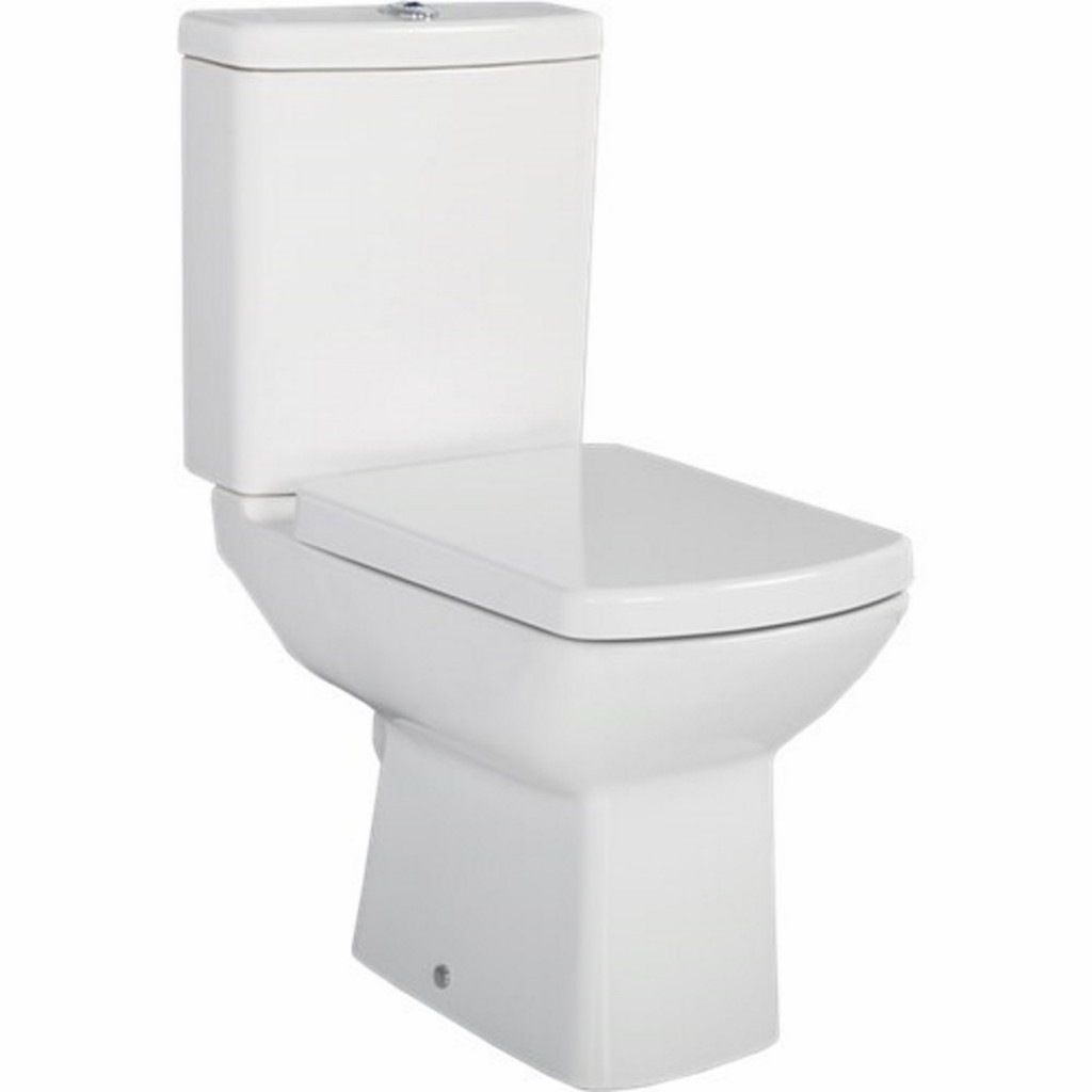 Creavit Lara Close Coupled Open Back Combined Bidet...