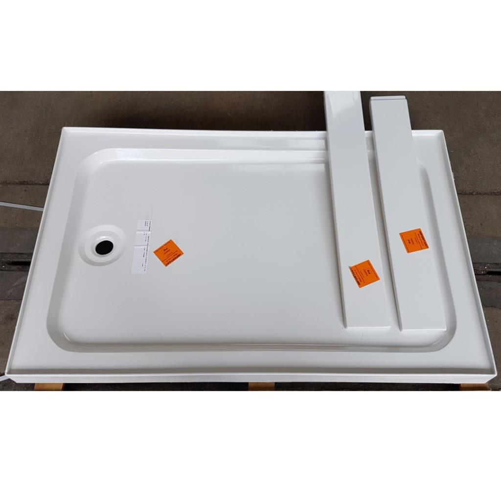 Manhattan Rectangular Shower Tray 1200mm x 760mm - Baker and Soars