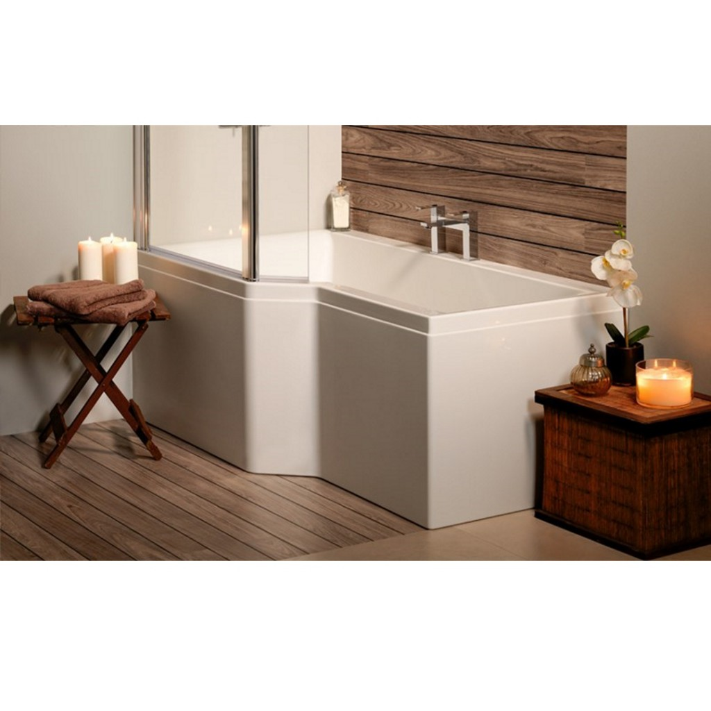 Carron Urban Edge Shower Bath - Baker and Soars