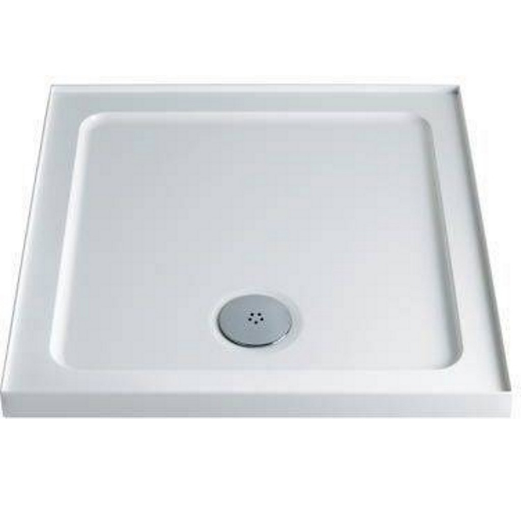 Twyford 900mm x 900mm Tray Square Upstand TR6231WH