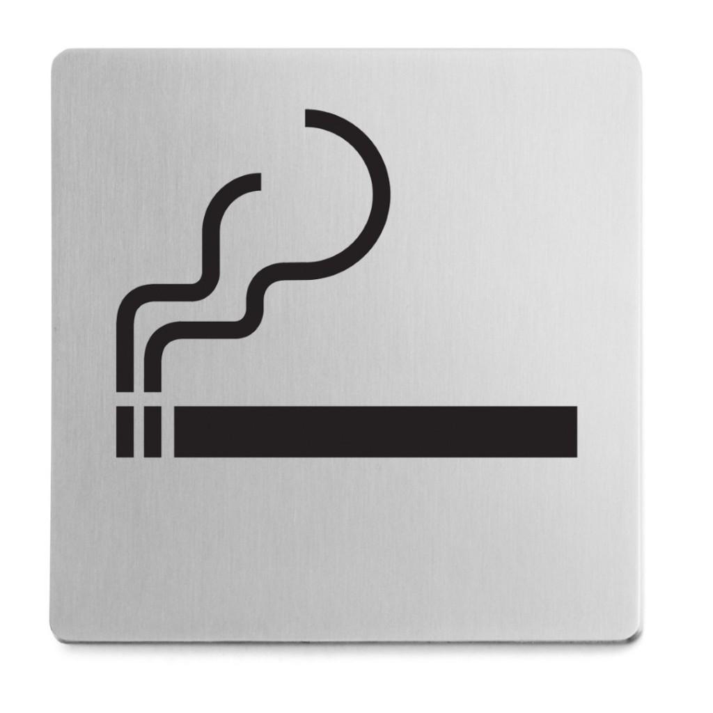 Zack Indici Smoking 8x8cm Information Sign 50720