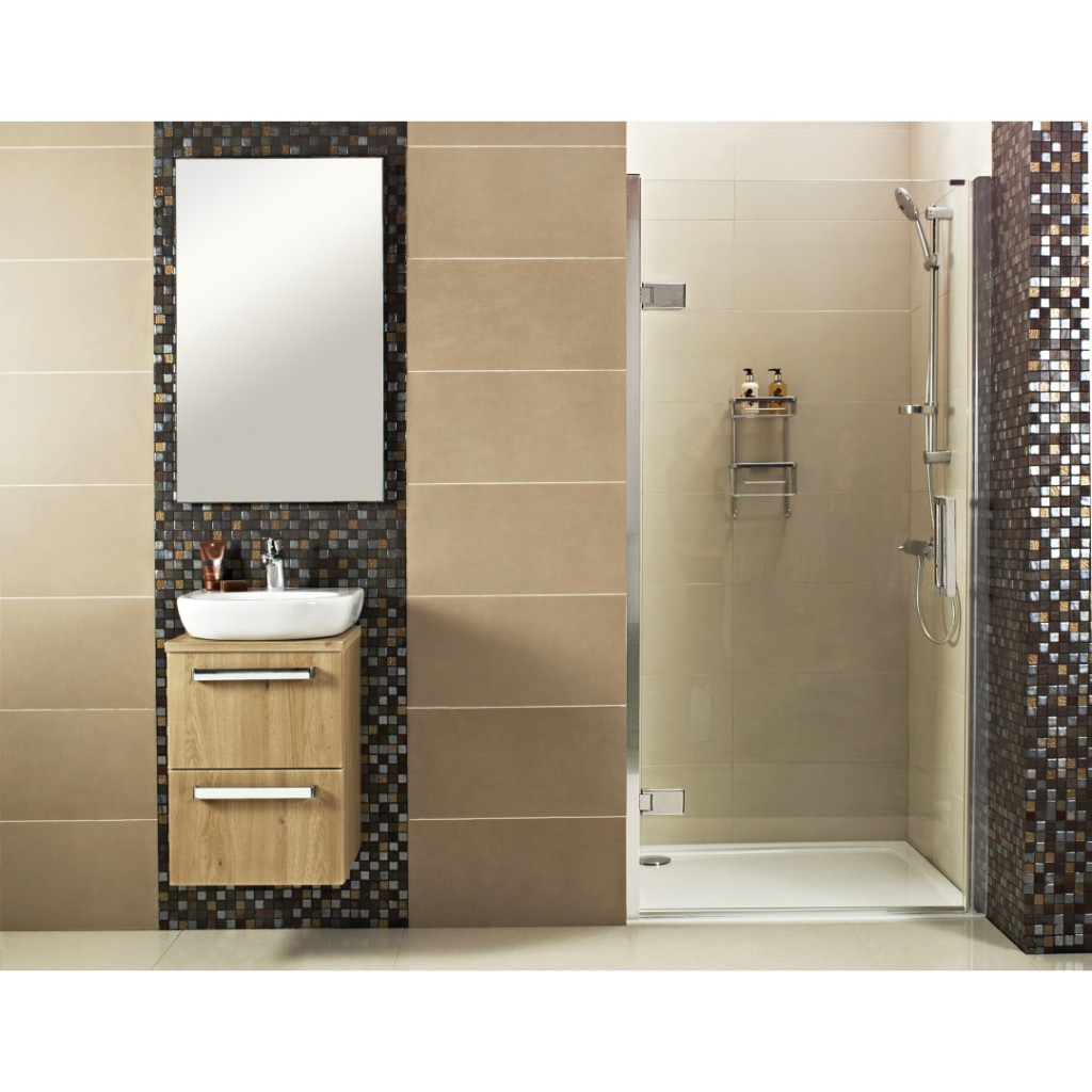 Roman Showers Decem Hinged Door Shower Enclosure