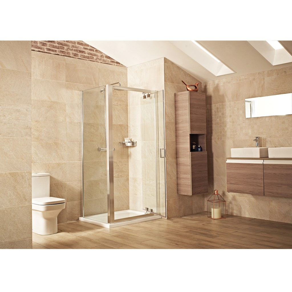 Roman Showers Lumin8 Inswing Door Shower Enclosure