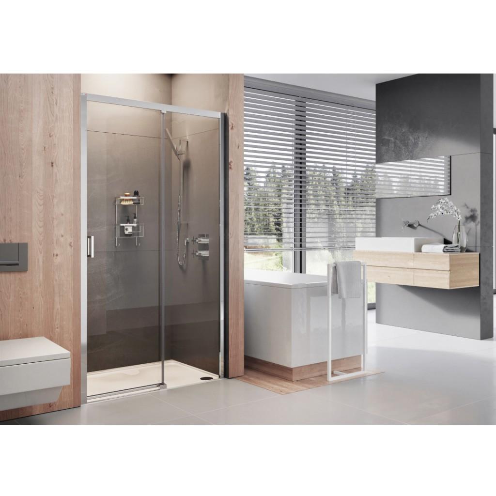 Roman Showers Lumin8 Level Access Sliding Door Shower...