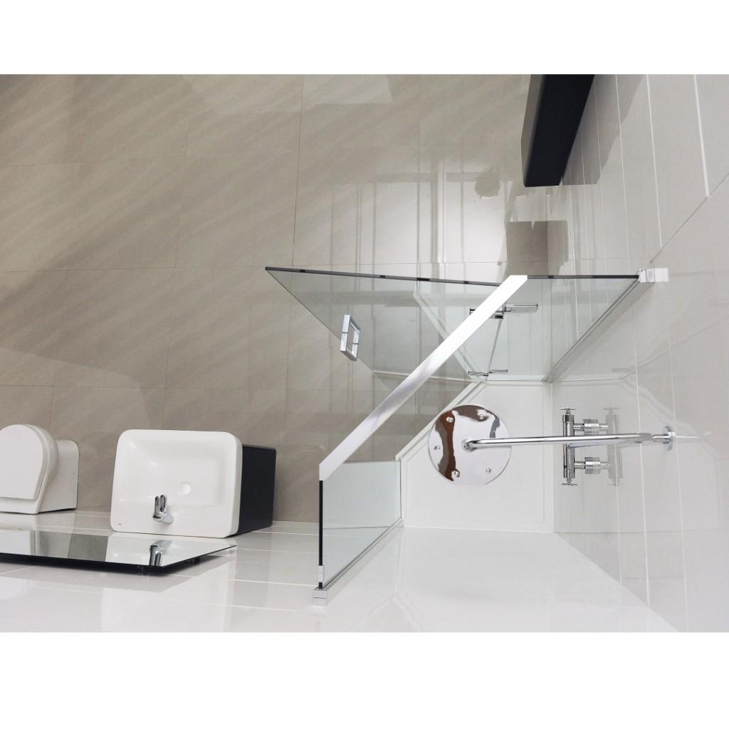 Roman Showers Decem Neo Angle Shower Enclosure Baker And