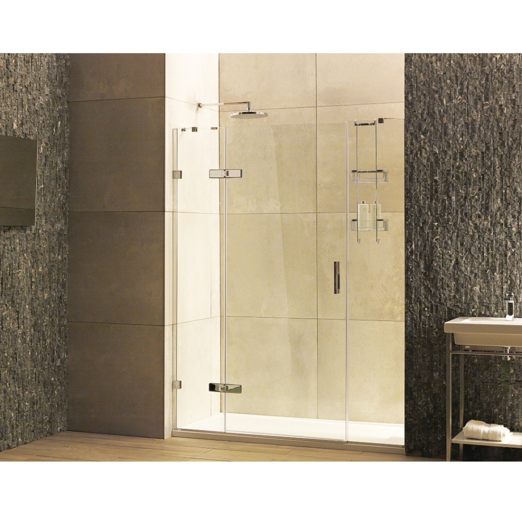 Roman Showers Liber8 Hinged Door With Two In Line...