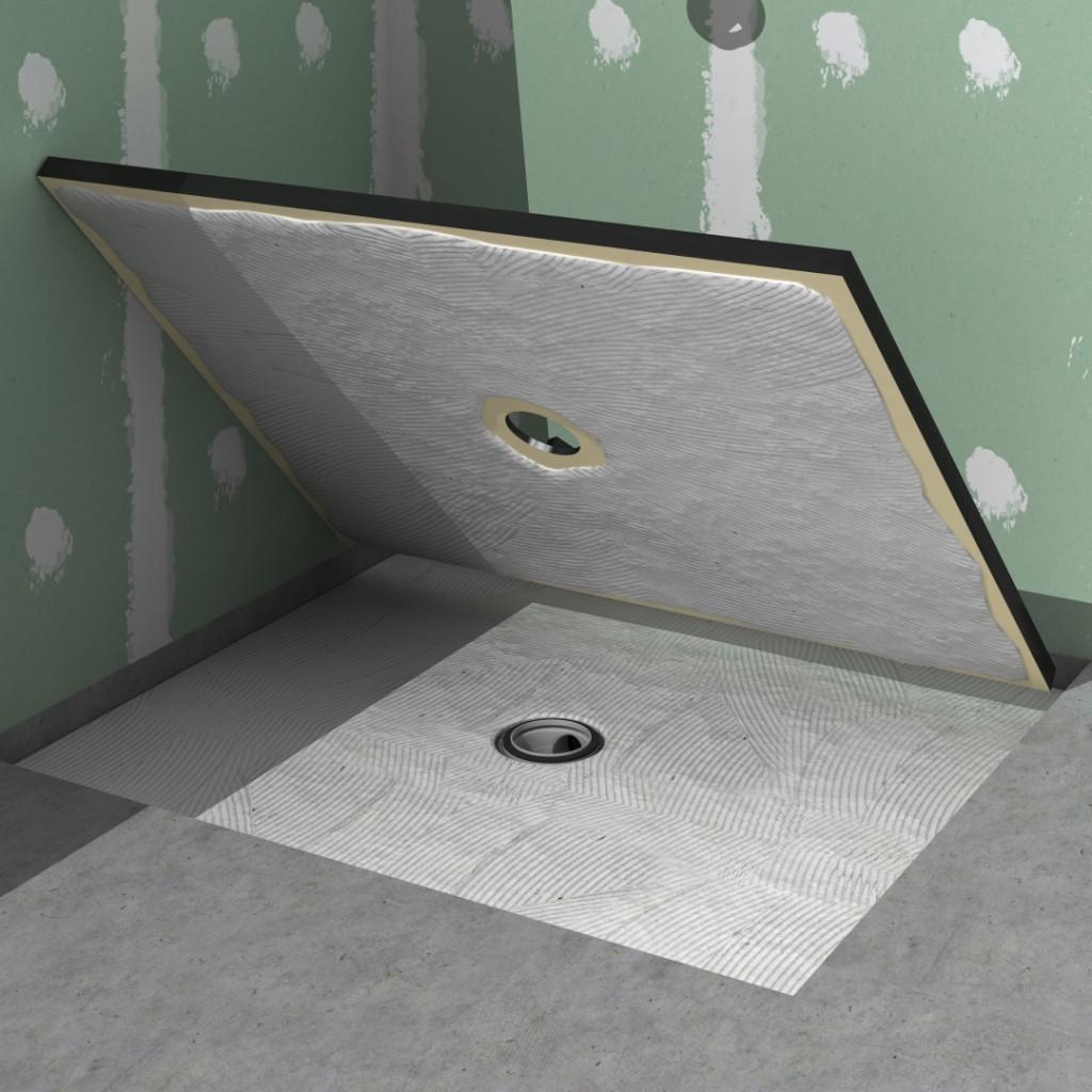 Wet Room Kit Concrete Floor
