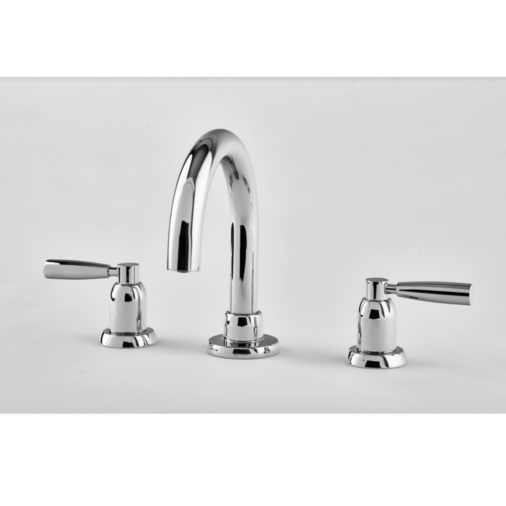 Perrin And Rowe Contemporary 3 Hole Deck Mounted Basin...