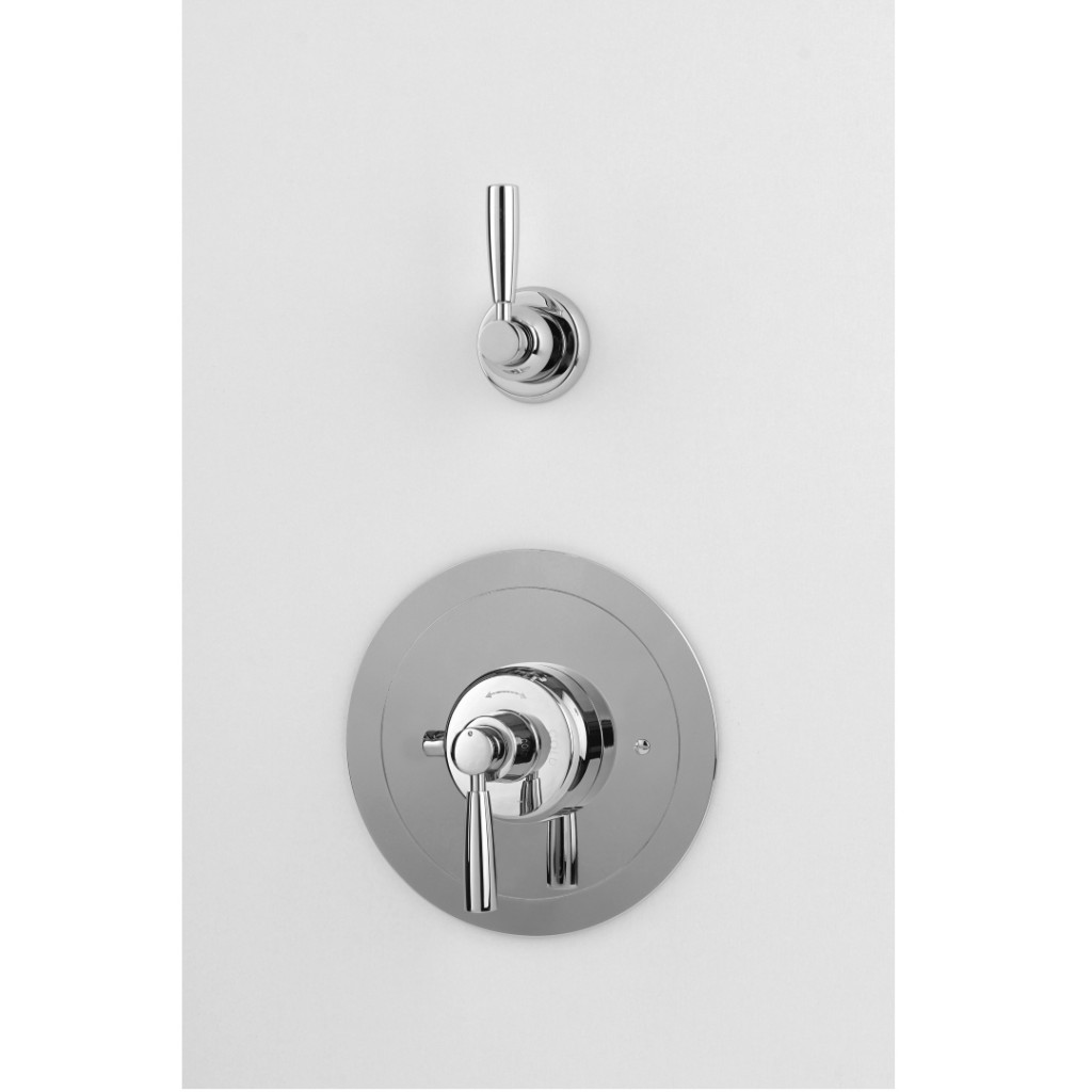 Perrin And Rowe Contemporary Split Concealed Thermostatic Shower