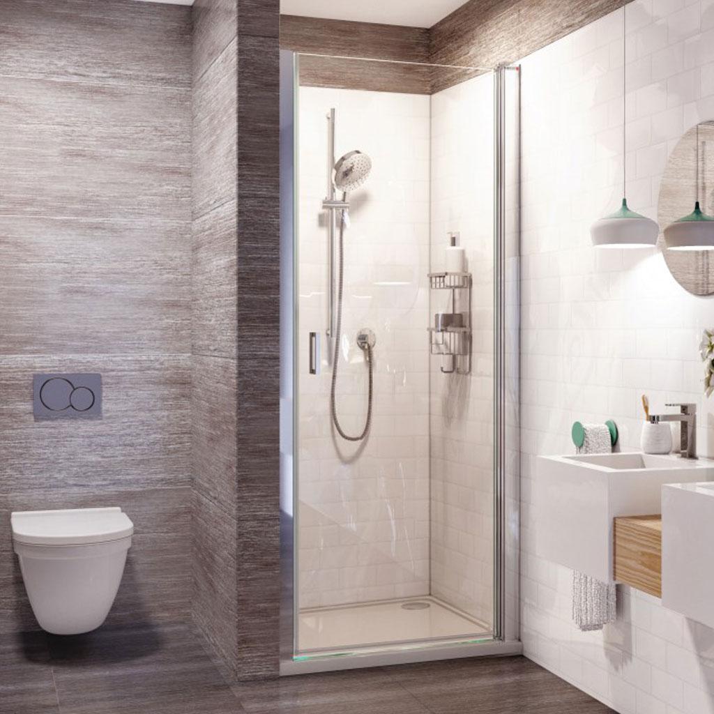Roman Showers Innov8 Pivot Door Shower Enclosure Baker