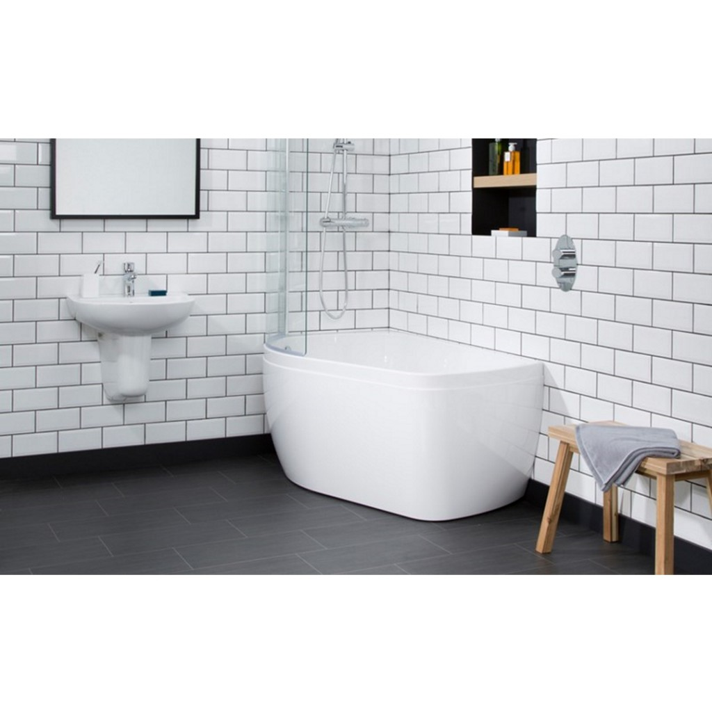 Carron Profile Shower Bath 1550mm x 900mm - Baker and Soars