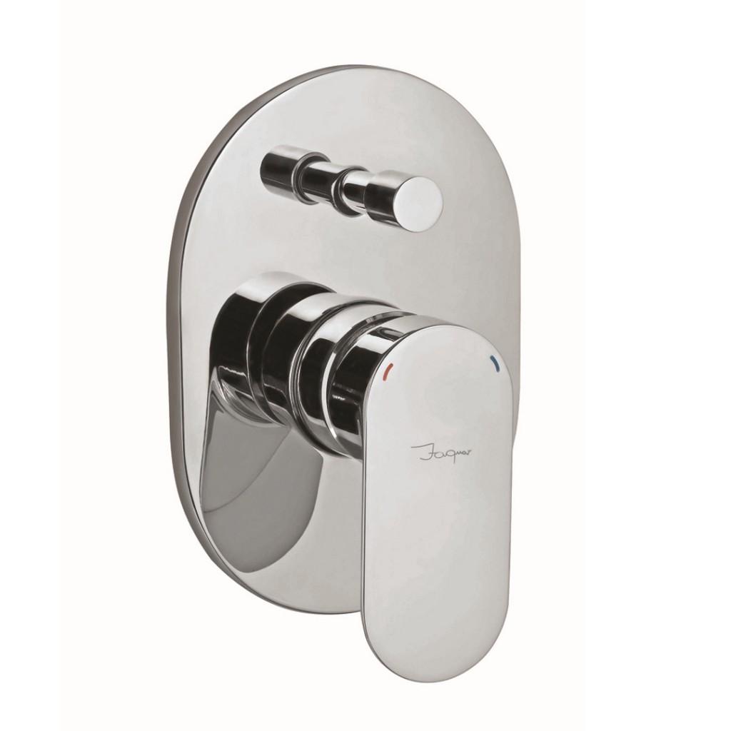 Jaquar Opal Prime Manual 2 Outlet Shower Mixer OPP CHR 15065KPM