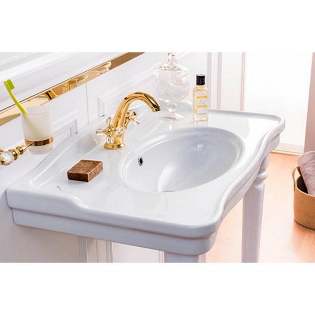 Creavit Antik Washbasin with Antik Pedestals AN080 /...