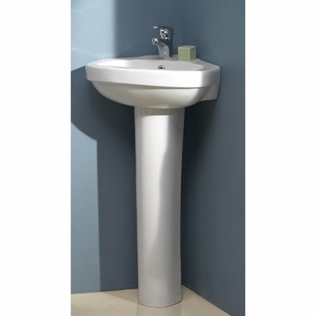 Creavit Corner Vitroya 45x45 cm Washbasin with Full...