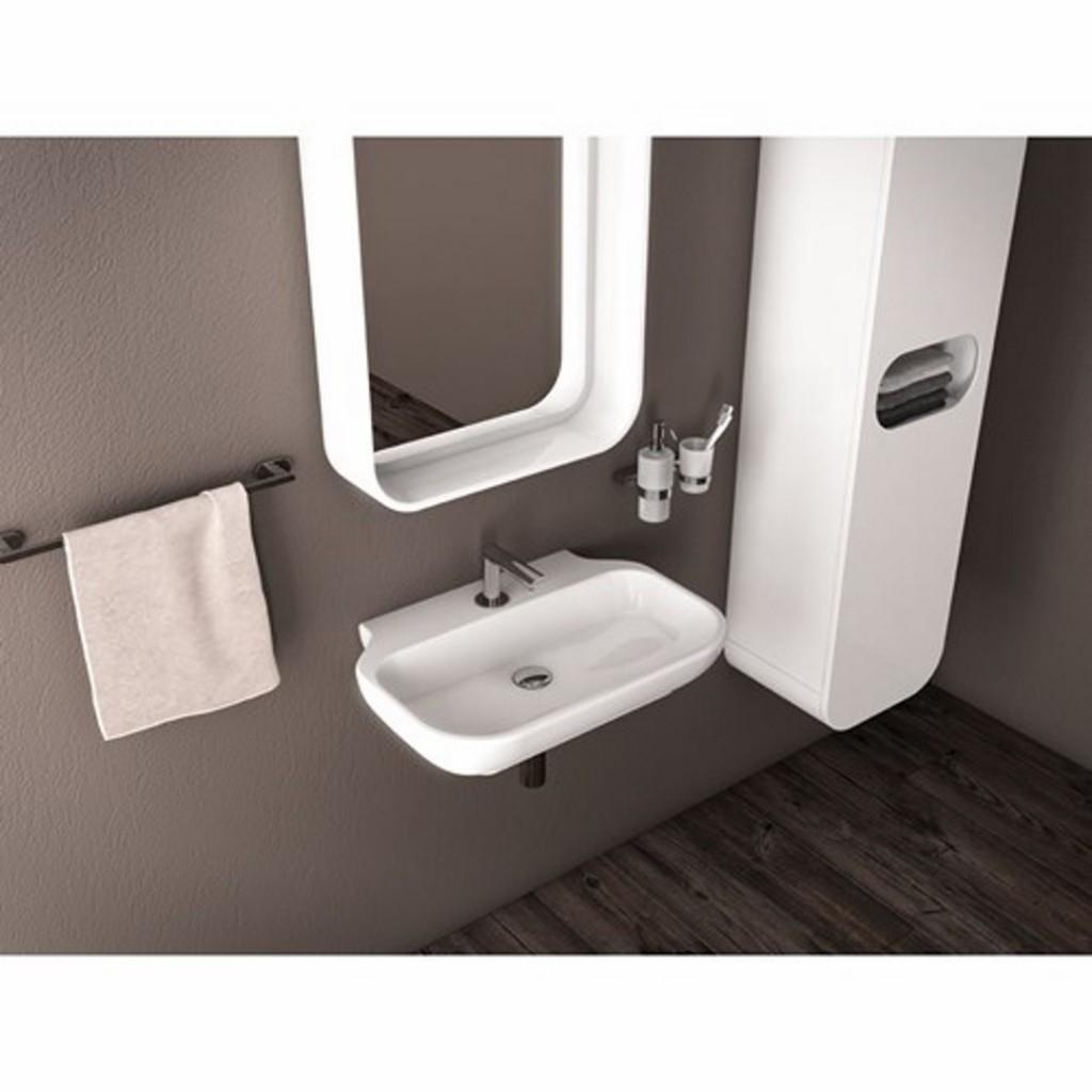 Creavit Free 65x45 cm Top Counter Washbasin FE065